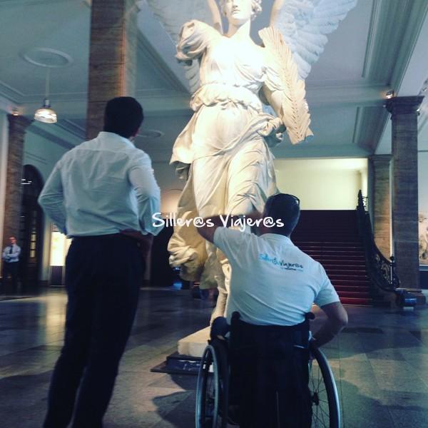 Museo Pérgamo accesible.