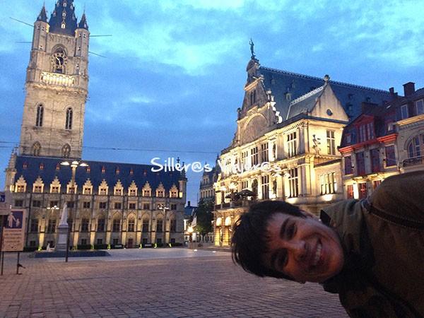 Callejeando por las calles de Gante
