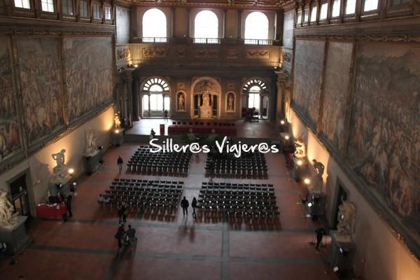 Sala en el Palazzo Vecchio