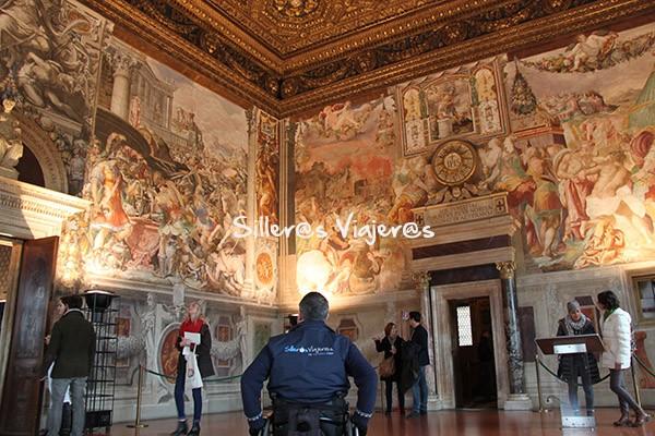 Interior de Palazzo Vecchio
