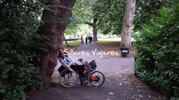"Parque ""St. Stephens Green"""