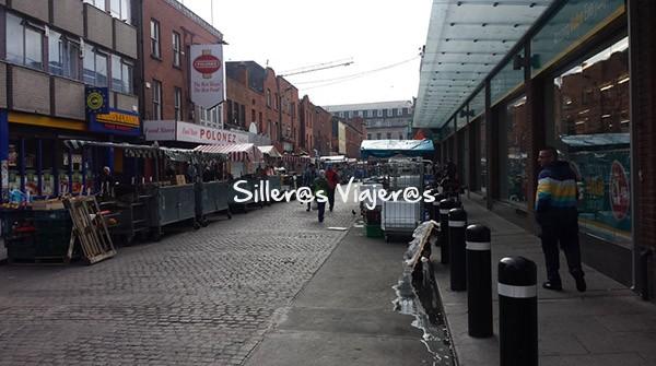Calle de tiendas y mercados