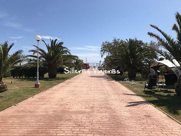 Camino hacia la playa