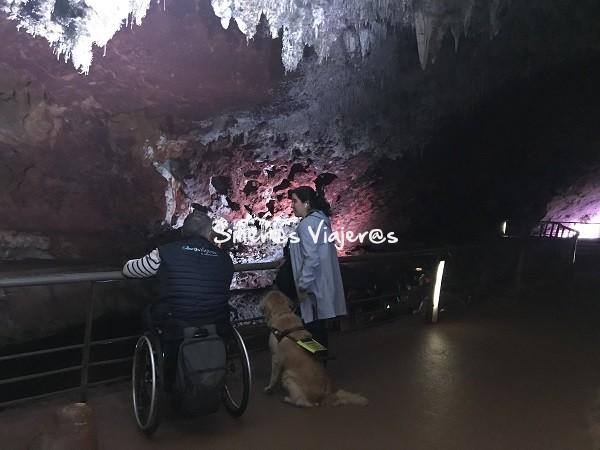 Cuevas accesibles