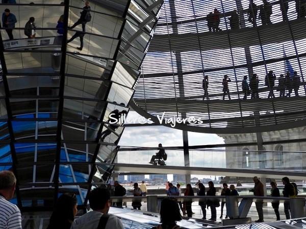 La cúpula de Norman Foster del Reichstag