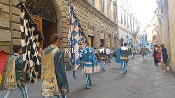 Desfile ganadores del Palio