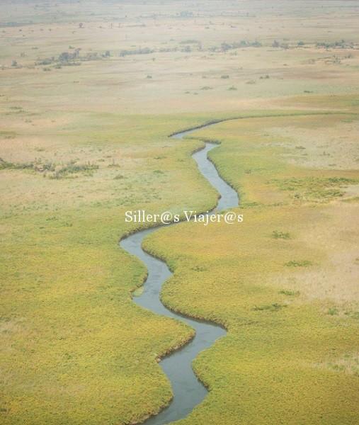 Vista aérea del Delta