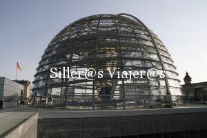 Vista exterior de la cúpula del Reichtag