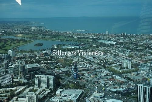 Vista aérea de Melbourne
