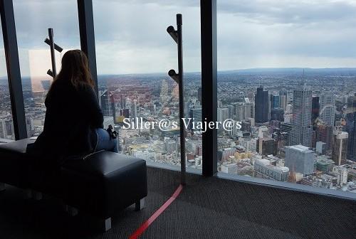 Vistas de Melbourne desde piso 88