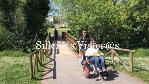 Esta bicicleta permite llevar a personas con discapacidades cognitivas o parálisis cerebral