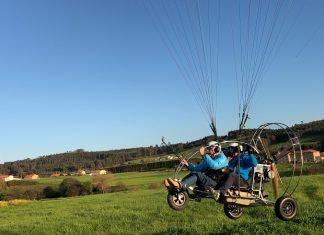 Empezamos a volar en paratrike accesible