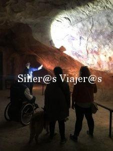 En el interior de las cuevas del Parque de la PrehistoriaEn el interior de las cuevas del Parque de la Prehistoria
