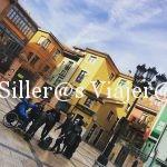 En la plaza trascorrales de Oviedo