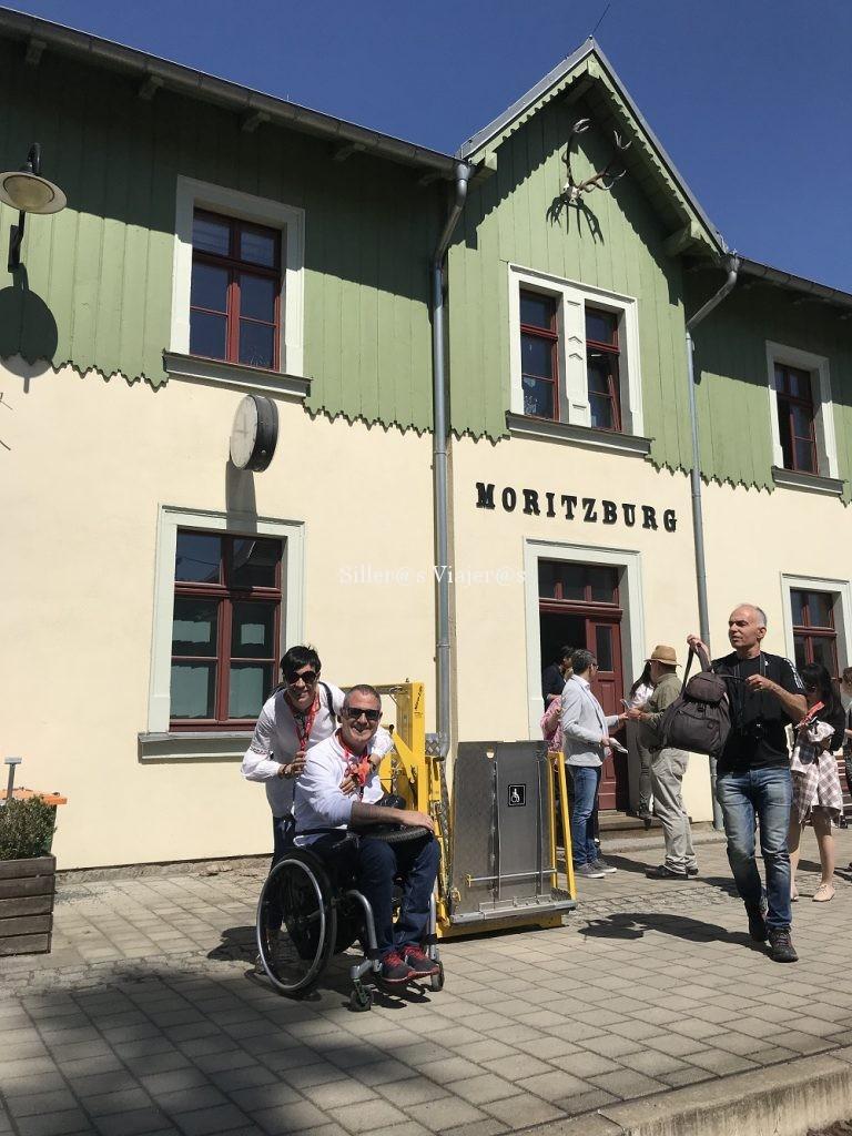 Estación del tren en Moritzburgo
