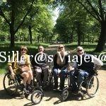 Grupo de silleros, dos de nosotros con freewheel