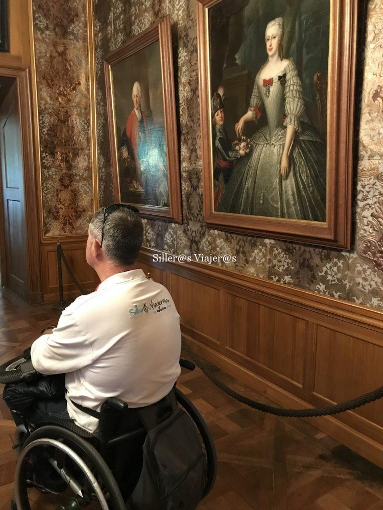 Interior palacio Moritzburgo