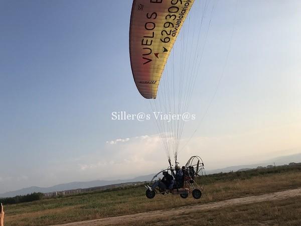 Arrancando el vuelo del paratrike accesible