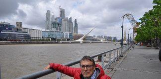 Vista rascacielos en Buenos Aires