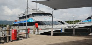 Catamarán accesible, libre de barreras