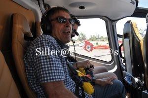 Comienza la aventura en helicoptero