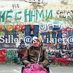 Grafitis en la calle Arbat