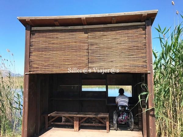 Mirador accesible en el Humedal. ©MJ:Aguilar
