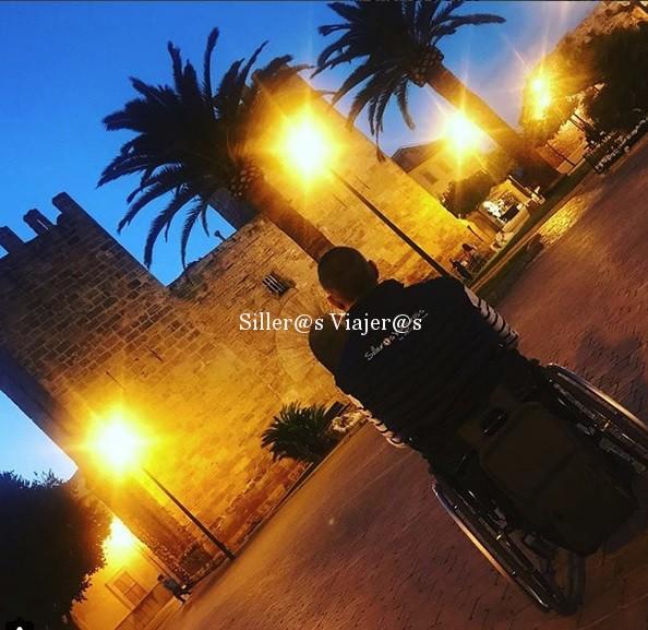 Foto de Alcudia de noche.