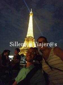 Visita nocturna a la Torre Eiffel