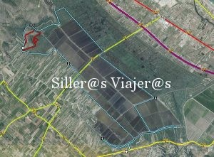 Plano ruta azul. ©MJ:Aguilar