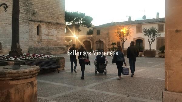 Paseo accesible por Alcudia