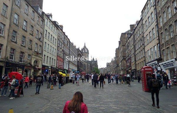 Royal Milla en Edimburgo