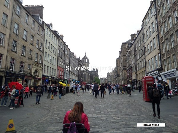 Royal Milla en Edimburgo