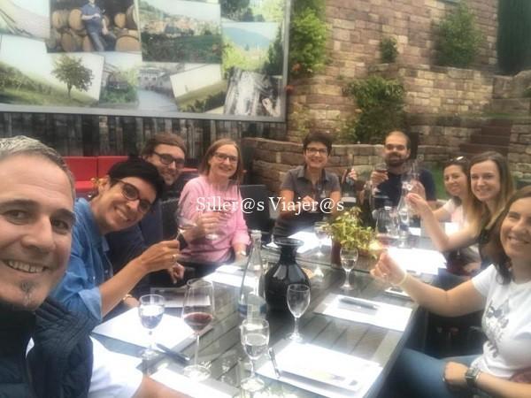 Cata de vinos en vinoteca Schreieck.