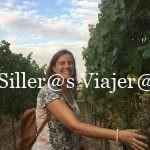 Nuria entre viñas en Maikammer