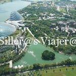 Vista aérea zonas verdes de Singapur