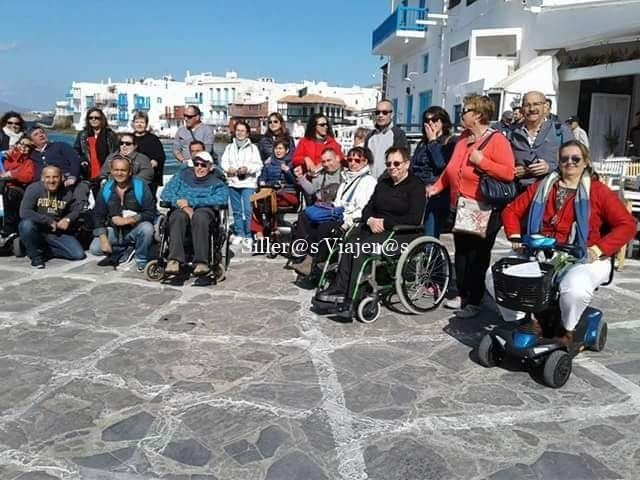 Foto de grupo de viajes accesibles de Cocemfe
