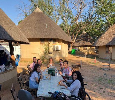 Sudafrica en silla de ruedas