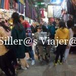 De compras por el popular mercado Jan el Jalili