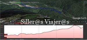 Ruta y perfil de elevación ruta Ordesa. ©MJ:Aguilar