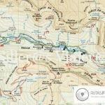 Mapa Sendero adpatado pradera de Ordesa.
