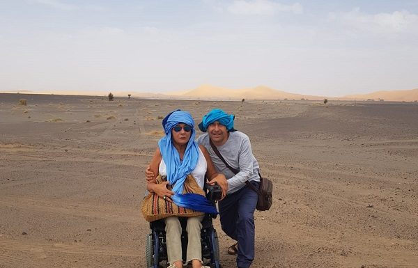 Marruecos con silla de ruedas