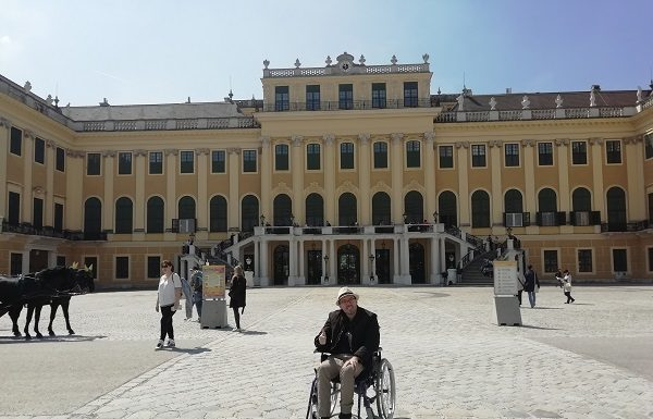 Alex en el Palacio Schonbrunn