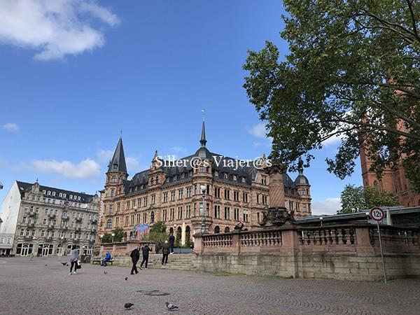 Ayuntamiento de Wiesbaden.
