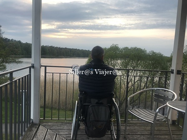 Maravillosas vistas al lago desde la terraza de la habitación