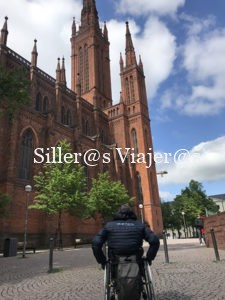 Iglesia Evangélica Marktkirche de Wiesbaden, accesible para personas con discapacidad.
