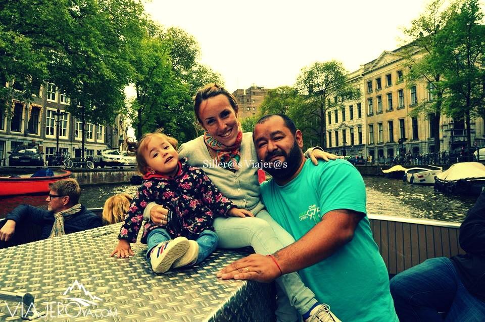 Disfrutando de la ciudad de Amsterdam