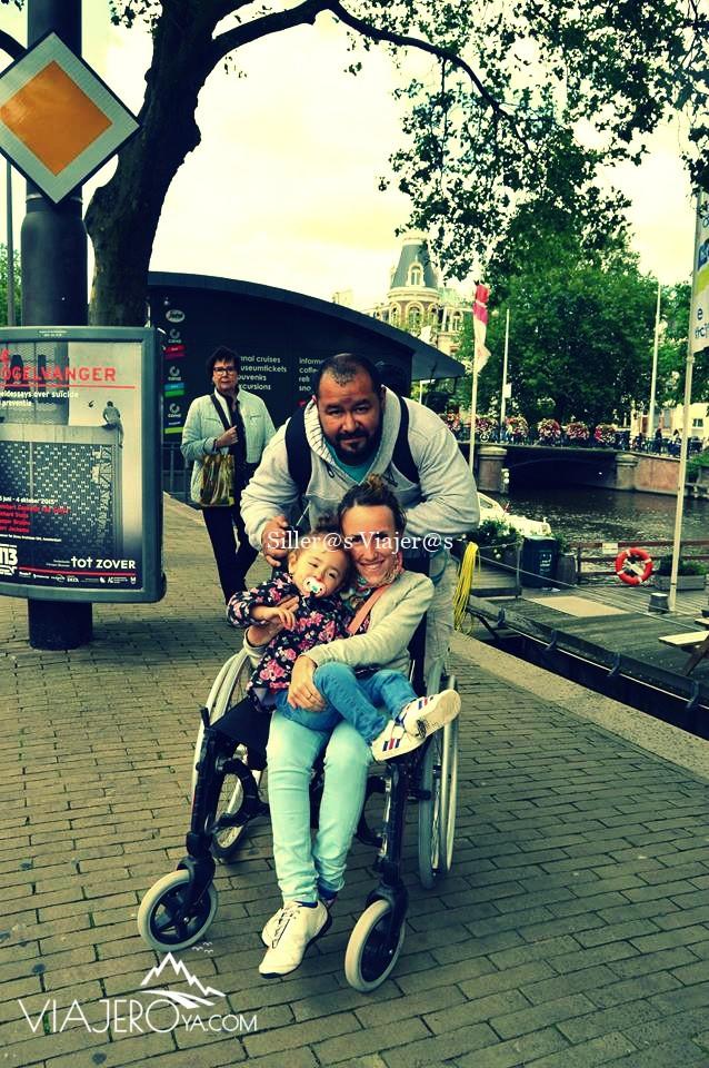 Recorriendo las calles de Amsterdam