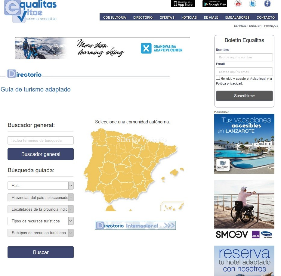 www.equalitasvitae.com, el portal de turismo inclusivo