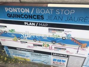 Barco accesible en Burdeos